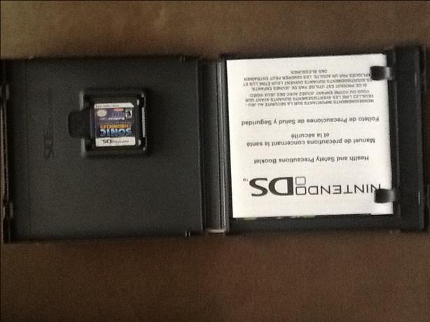 Nintendo DS SONIC Chronicles