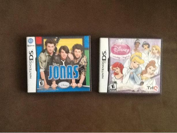 Nintendo DS Disney Jonas game