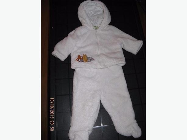 2pce Winnie the Pooh Warm Suit 6-12M