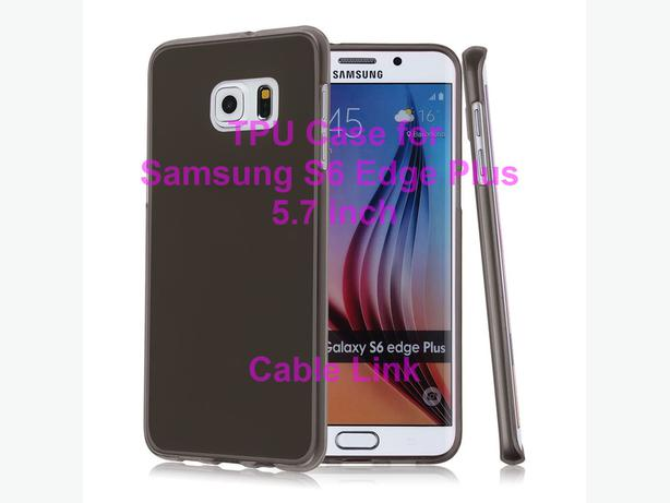 Matte Soft TPU Gel Case for Samsung Galaxy S6 Edge Plus