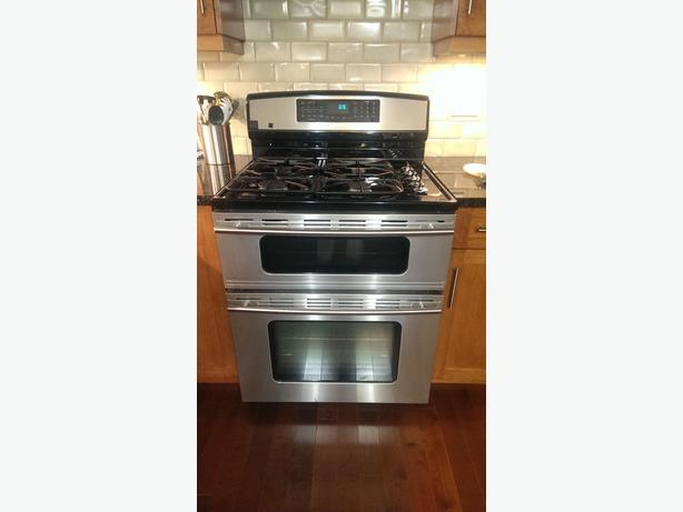 High end jenn air 30 range gas electric and double oven parksville nanaimo - Gas electric oven best choice cooking ...