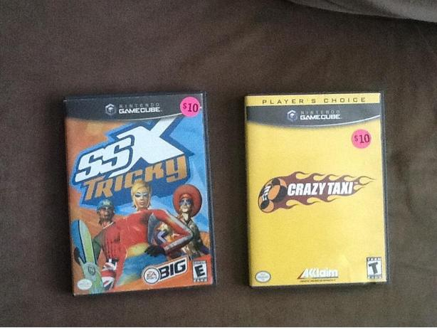 Nintendo GAMECUBE - Games part 5: Jimmy Neutron, Crazy Taxi, SSX Tricky