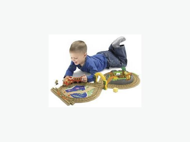 Fisher-Price GeoTrax On the Go Zoo