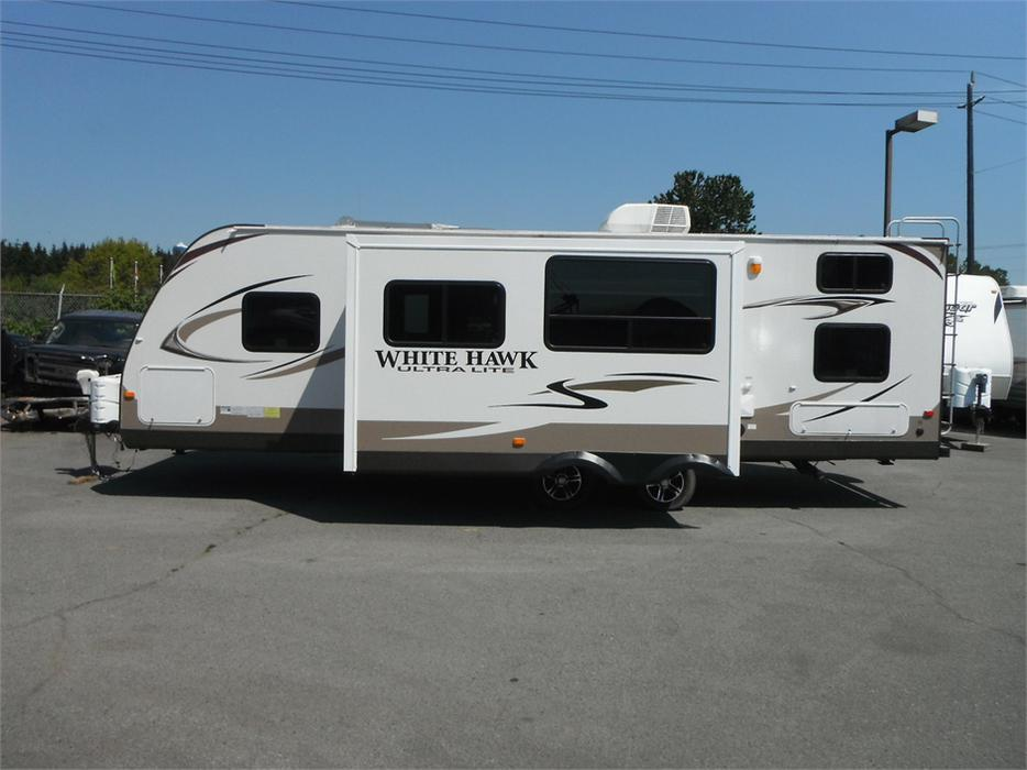 2013 Jayco White Hawk 28dsbh Ultralight Rv Travel Trailer