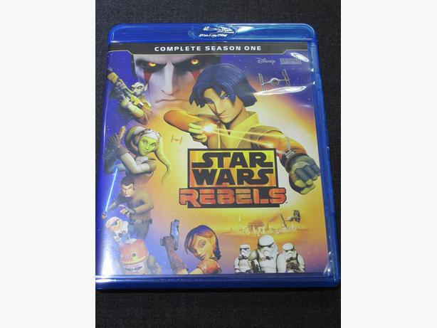 STAR WARS REBELS BLURAY