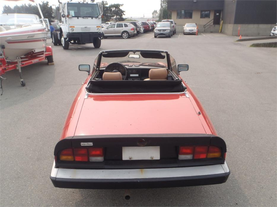 1986 alfa romeo spider veloce convertible 12