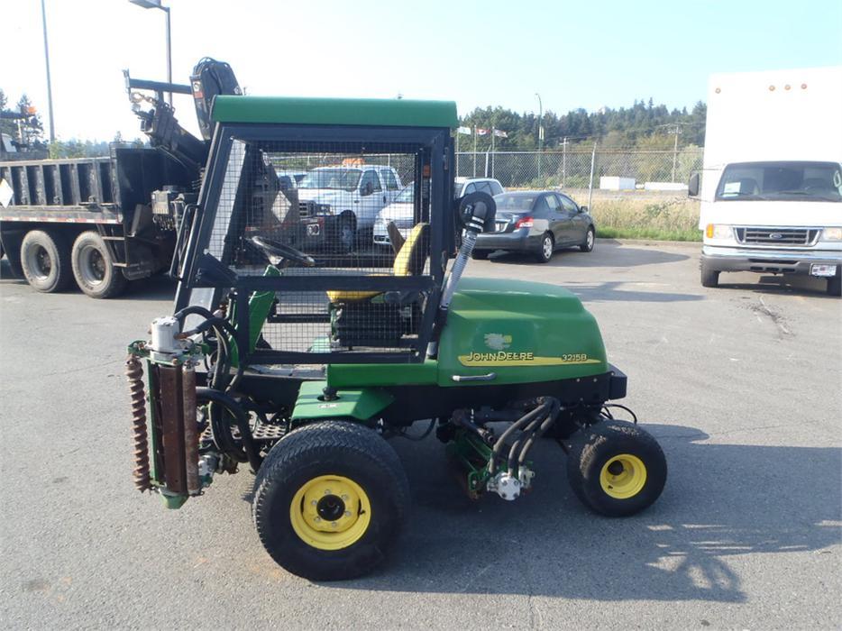 2004 John Deere 3215b Lawn Mower Diesel 5 Gang Mower