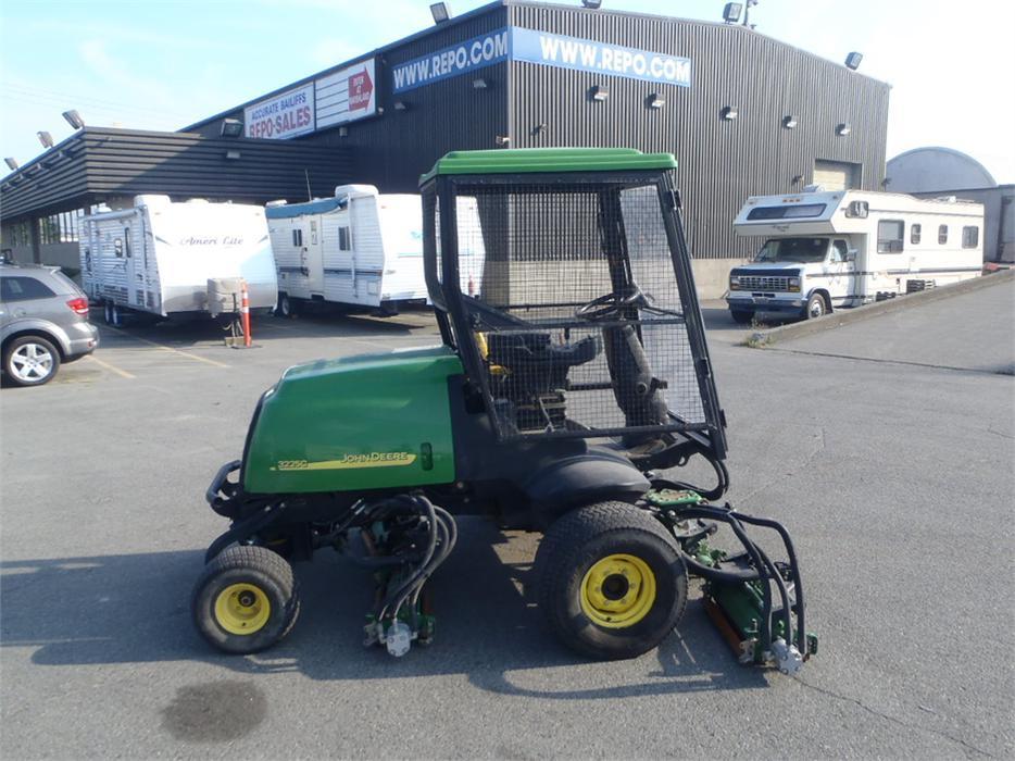 2007 John Deere 3225c Lawn Mower Diesel 5 Gang Mower