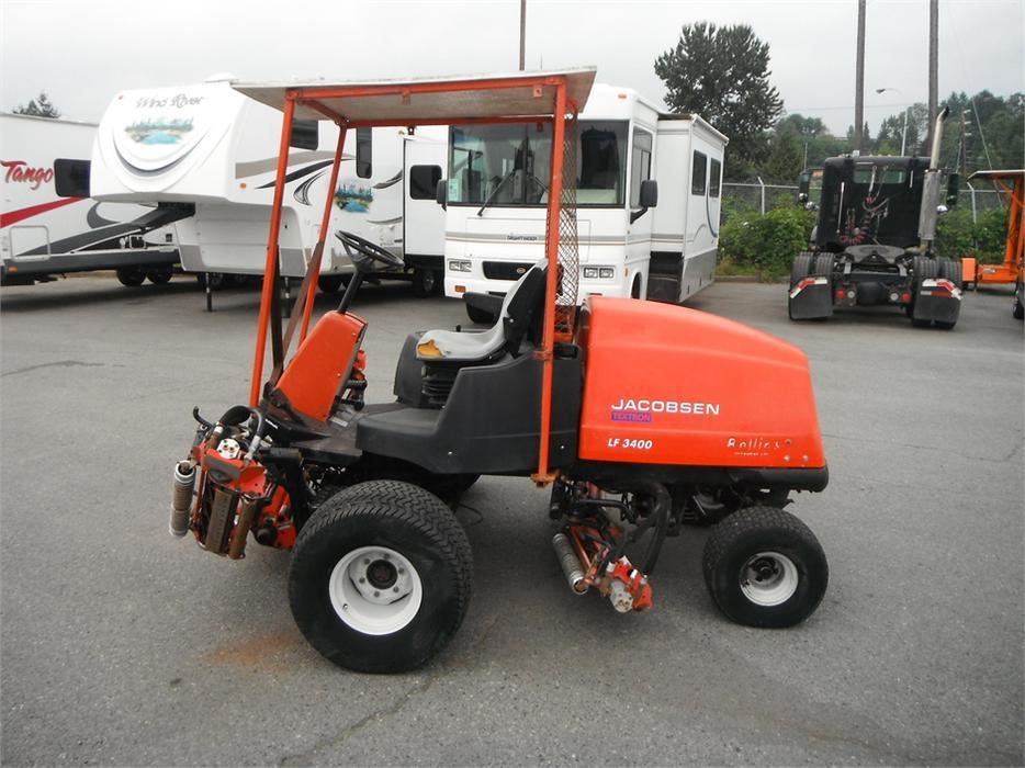 2001 Jacobsen Lf3400 Grass Cutter Diesel Mower Outside