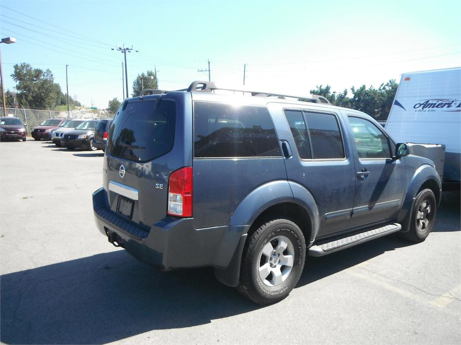 2007 nissan pathfinder le 4wd outside calgary area. Black Bedroom Furniture Sets. Home Design Ideas