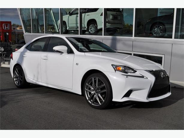 2014 lexus is 250 awd f sport no accidents outside nanaimo nanaimo. Black Bedroom Furniture Sets. Home Design Ideas