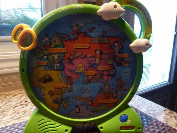 Fisher Price KIDS AROUND THE WORLD See n Say