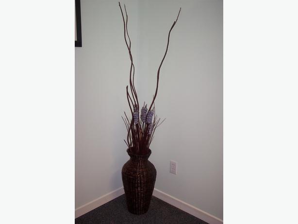 Decorative Wicker Vase