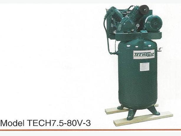 New Cast Iron Two-stage 5Hp.  Industrial Air Compressors