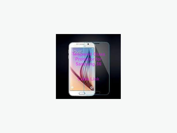 Tempered Glass Film Screen Protector Kit For Samsung Galaxy S6