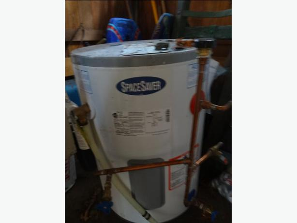 Space Saver 30 Gallon HWT with shut offs