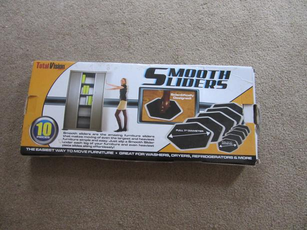 Smooth Sliders furniture sliders New in box