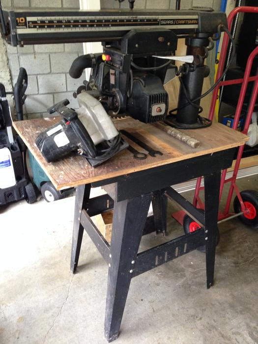 10 Inch Table Saw Craftsman Of 10 Inch Sears Craftsman Radial Arm Saw With Table Manual