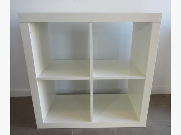 ikea expedit white kallax same thing 2x2 wall unit storage bookshelf saanich victoria. Black Bedroom Furniture Sets. Home Design Ideas