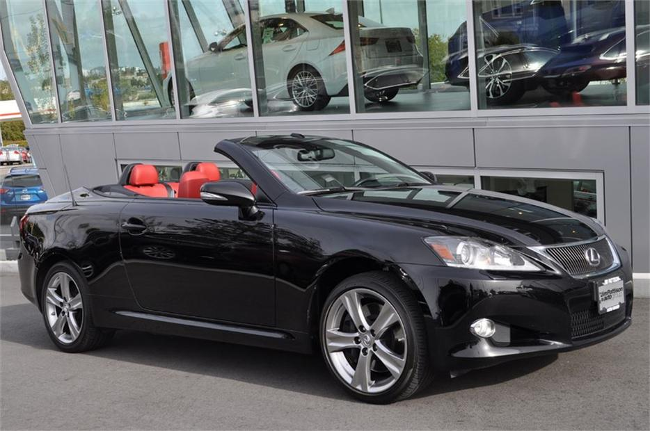 2012 lexus is 350c a6 unique hard top special edition. Black Bedroom Furniture Sets. Home Design Ideas