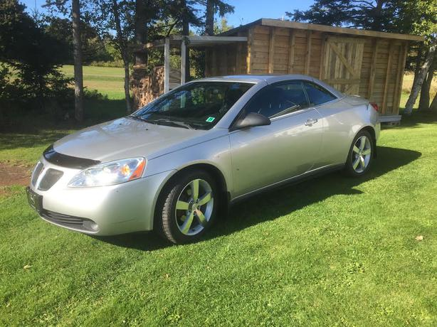 2007 pontiac g6 gt hard top convertible for sale charlottetown pei mobile. Black Bedroom Furniture Sets. Home Design Ideas