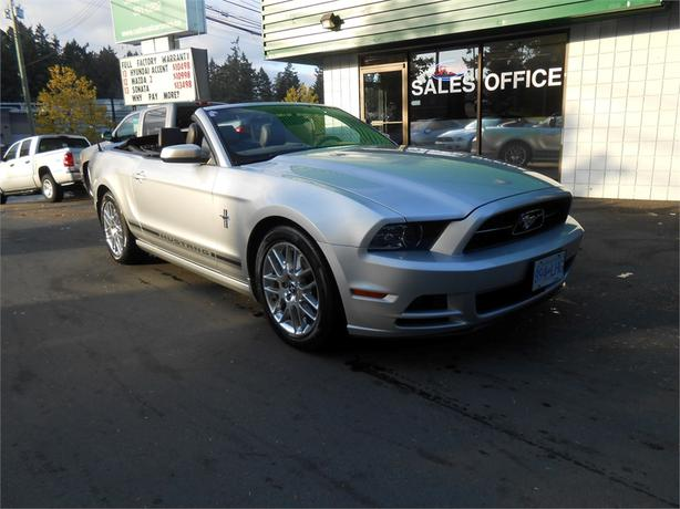 2014 ford mustang premium v6 convertible courtenay courtenay comox. Black Bedroom Furniture Sets. Home Design Ideas