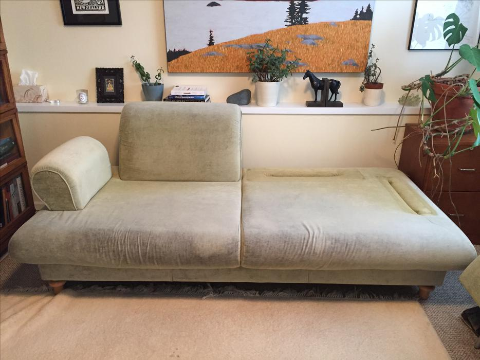Designer Couch Turns Into Spare Double Bed Oak Bay Victoria