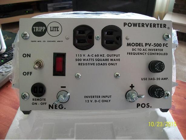 Power invertor 12V - 115V