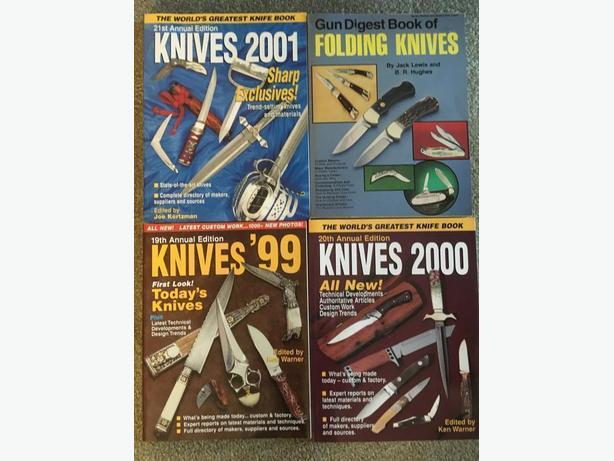 12 Knife books