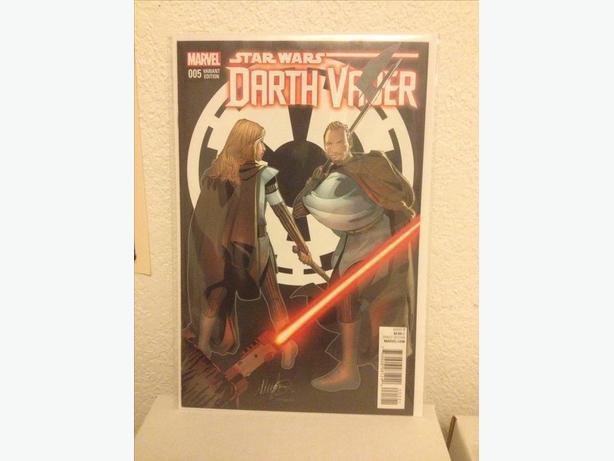 Darth Vader #5 Delgato Variant NM