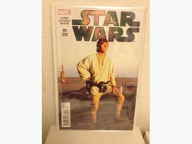 Star Wars #1 Photo Variant Cover