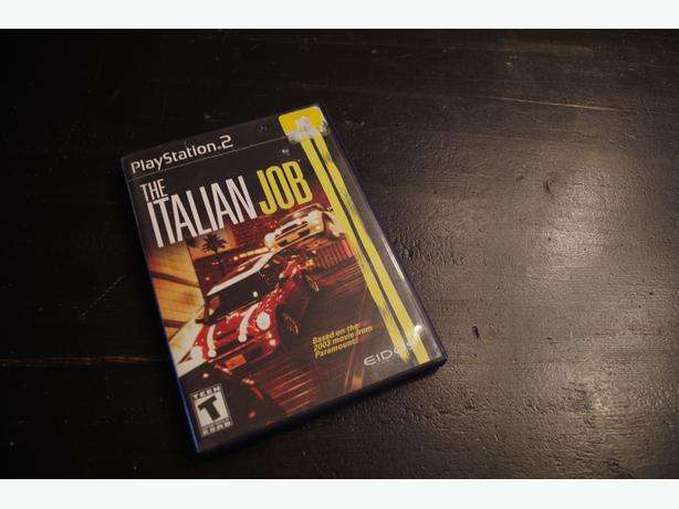 The Italian Job Game for PS2