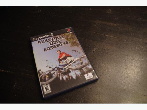 Mountain Bike Adrenaline Game for PS2
