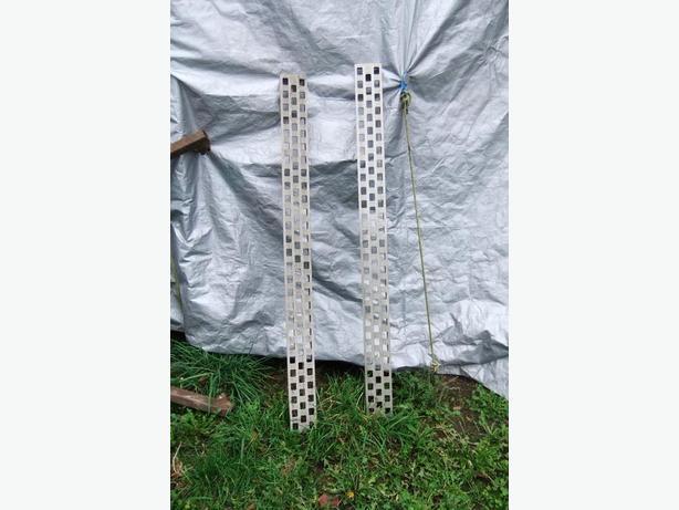 aluminum walk planks for trailer