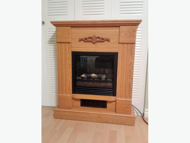 Free Standing Electric Fireplace Dimensions Listed Central Nanaimo Parksville Qualicum Beach