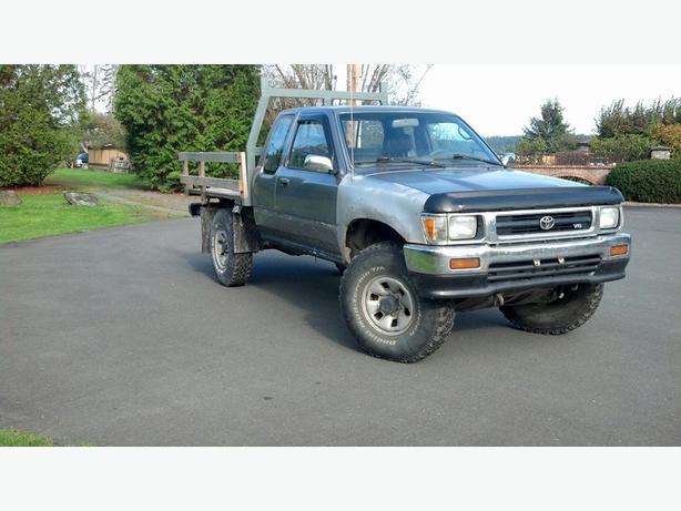 1993 toyota 4x4 pickup outside nanaimo nanaimo mobile - 1993 toyota pickup interior parts ...
