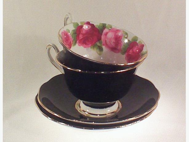 Royal Albert teacups and saucers Old English Rose