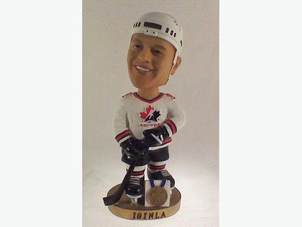 Jerome Iginla Team Canada bobble head