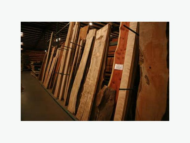 domestic and exotic lumber collection?
