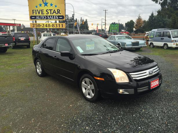 2006 ford fusion sel 2 3l 4cyl 177 821kms outside comox valley campbell river. Black Bedroom Furniture Sets. Home Design Ideas