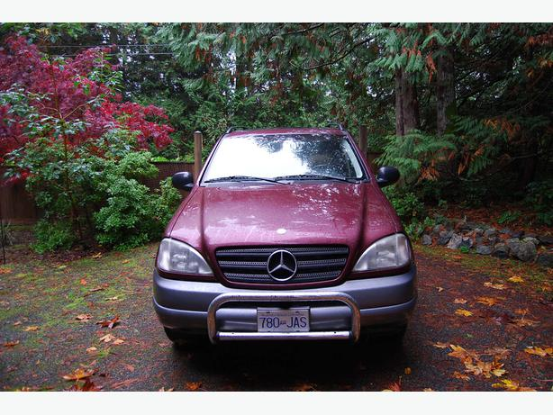 1999 mercedes benz ml320 outside nanaimo parksville for Mercedes benz 1999 ml320