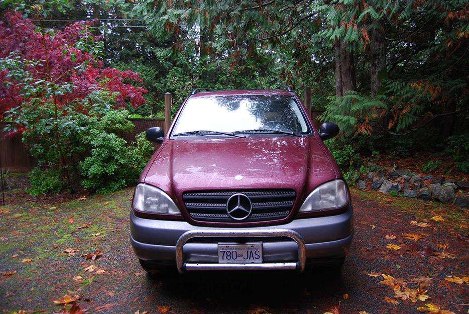 1999 mercedes benz ml320 outside nanaimo nanaimo mobile for Mercedes benz 1999 ml320