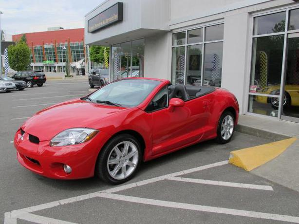2007 mitsubishi eclipse spyder gt outside nanaimo parksville qualicum beach. Black Bedroom Furniture Sets. Home Design Ideas