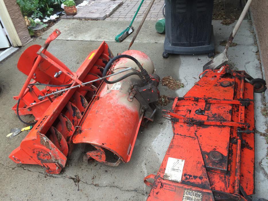 Case 446 Garden Tractor W Attachments South Regina Regina