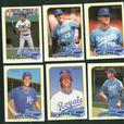 10 Card Lot 1989 O Pee Chee Kansas City Royals