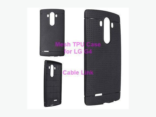 New Grid Matte Soft TPU Case Cover For LG G4