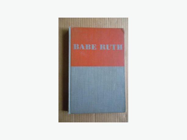 """1947 """"Babe Ruth"""" book"""