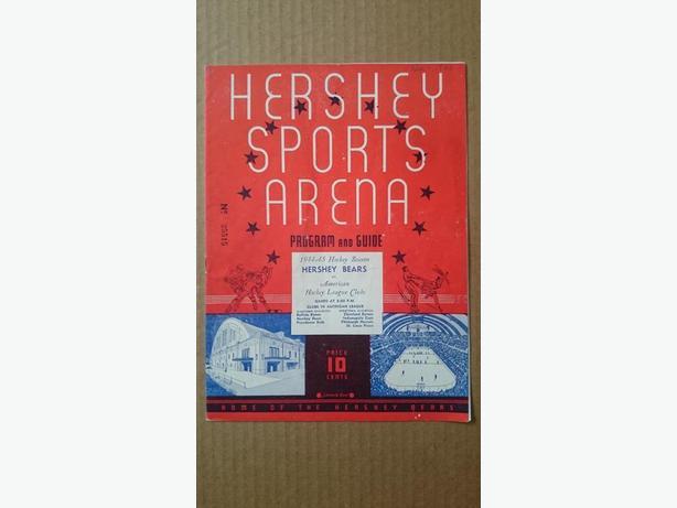 1944 Hershey Bears program