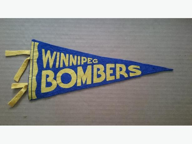 1950's Winnipeg Blue Bombers small pennant