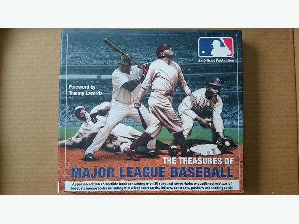 """The Treasures of Major League Baseball"" book"